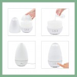 Essential Oil diffuser White with 7 color LED lights