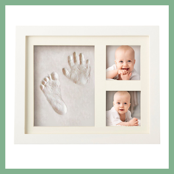 Kit impronte manine e piedini neonati + portafoto