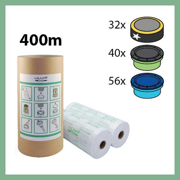 400 meters - Universal Diaper pail refill + Skid