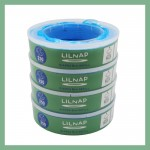 LILNAP Refill cassettes for Angelcare diaper pail 4-pack