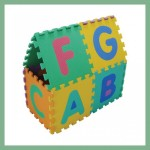 Puzzle mat for children - Letters