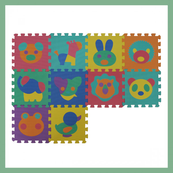 Puzzle mat for children - Animals
