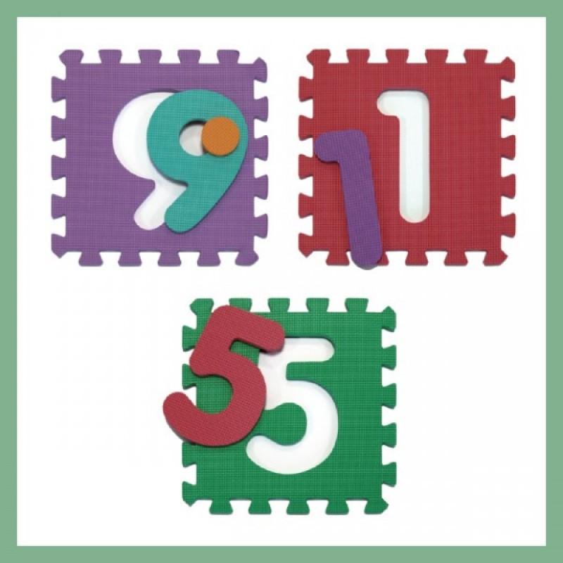 Tappeto puzzle atossico animali - Tappeto puzzle per bambini ikea ...